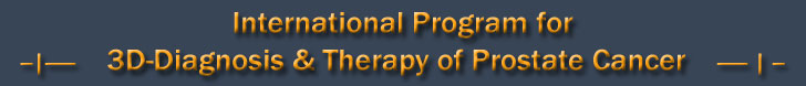 International Program for 3-D Diagnosis & Therapy of Prostate Cancer